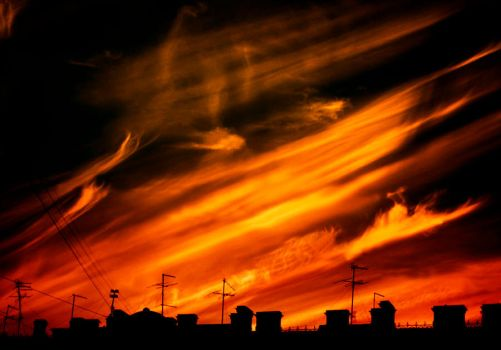 Burning heavens by LonelyPierot