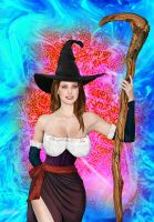 Real Sorceress dragon's crown by rat-mayiq
