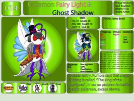 Pokemon Fairy Light and Ghost Shadow ''014'' Mega by AndkeAnka