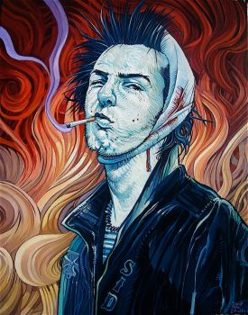 'Vicious Vangogh' by davidmacdowell