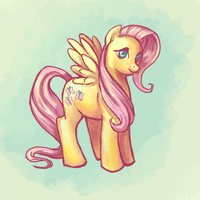 Fluttershy by Vogelspinne