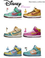 Disney Princess Nike by RachaelLoraine