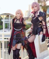 Final Fantasy Lightning Returns and Lumina Cosplay by AlysonTabbitha