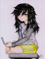 Tomoko by Fitz2013