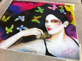 Full Color Butterflies by AmazingStreetPaint