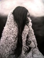girl in sheepskin by killaby