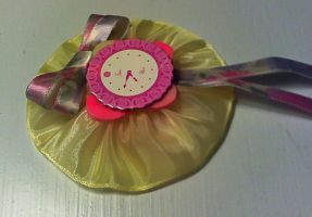 Time Flies Brooch by GothicDorothy