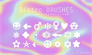 {Distro - Brushes} by Poqi