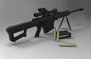 M95 Barrett by Psycho4140