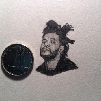 The Weeknd by hanksxo