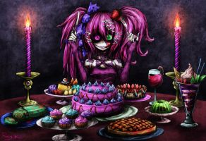 I Love Sweets by Ray-kbys