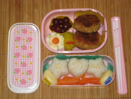 My first bento by KatyCrayon