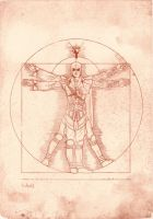 Vitruvian Man by Indexenos