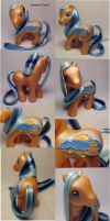 Summer Sunset custom pony by Woosie
