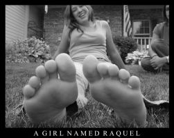 A Girl Named Raquel by whitewithblackspots