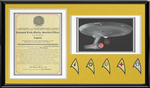 Capt. Ray Martin Commissioning Letter Shadow Box by viperaviator