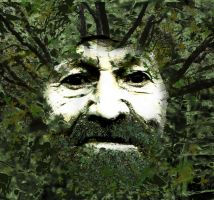 The Green Man by LeeAnneKortus