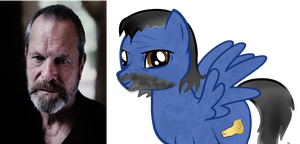 (ponified) Terry Gilliam by kuren247