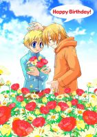 SP : Kenny and Butters 04 by sakurapanda