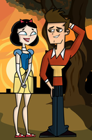 Total Drama Pahkitew: Topher and Ella by Mojito666