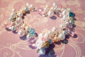 Hello Kitty Bracelet by YourSweetTreat