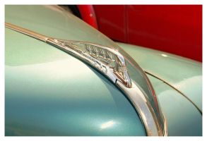 1940 Plymouth Hood Ornament by TheMan268