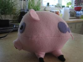 Mr Waddles the 15lb pig by cubseidl