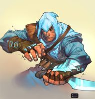 assassin's steve by chuck-piresART