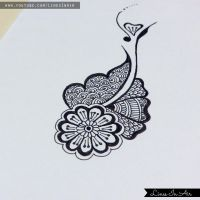 Easy Henna Mehndi Design by LinesInAir