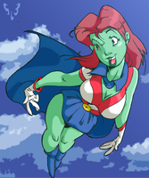Miss Martian by SLB-CreationS