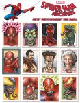 Spider-Man Sketch Cards by Erik-Maell