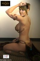 Princess Leia - Slave Girl by TheSnowman10
