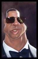 Brad Pitt Caricature... by Norke