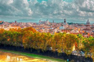 Roofs of Rome by olideb08