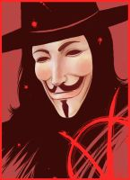 V for Vendetta by duofan