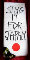 SING it for Japan. by Shimyo