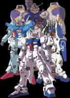 Gundam GP0 Team by ZGMF-X20-Freedom