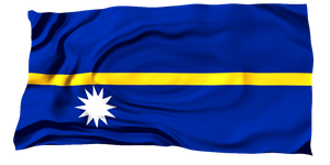 Flags of the World: Nauru by MrAngryDog