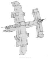 Bomber Dev Sketch 01 by MikeDoscher