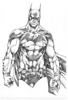 Batman by MARCIOABREU7