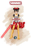 Jedi Disney Princess Minnie by White-Magician
