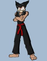 Punchy as Heihachi by neyola298