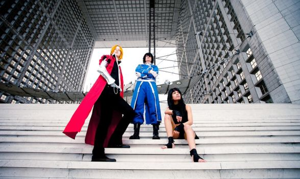 FMA :: Central's Time by Black--Deamon