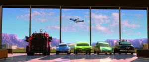 Cars_Fly to Tokyo by Deepskyer