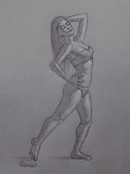 Figure Drawing #3 by AngelGanev