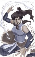 Korra Avatar Sketch by Protokitty