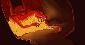 Smaug - School Project by WhyteHawke