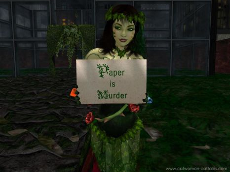 A Special Message from Poison Ivy by chrisdee