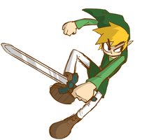 Day 13 : Link doodle by nasakii