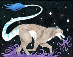 The Guardian of the Night Sky by Soulful-Purple-Wolf